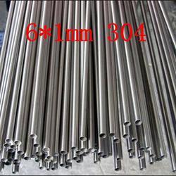 Мм 6*1 мм Аутентичные 304 SS из нержавеющей стали яркая капиллярная трубка, маленькая труба, Индивидуальные