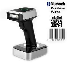 цена на ISSYZONEPOS Bluetooth Barcode Scanner QR code Reader Wireless  Wired 1D 2D Image Portable Scanner Support PDF417 Data Matrix
