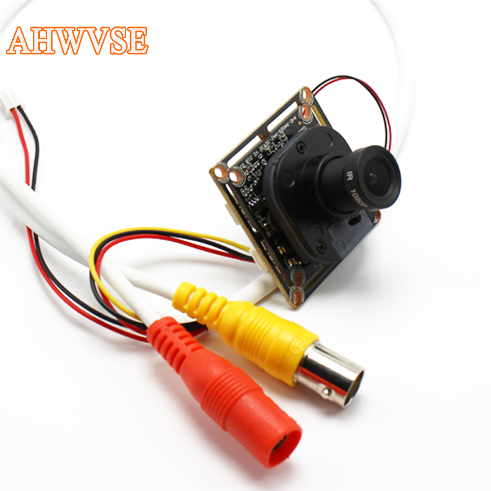 AHWVSE Ultra Low Illumination HD AHD Camera CMOS 2000TVL 2.8mm 16mm lens 1MP 1.3MP 2MP 720P 1080P Mini Camera For AHD DVR