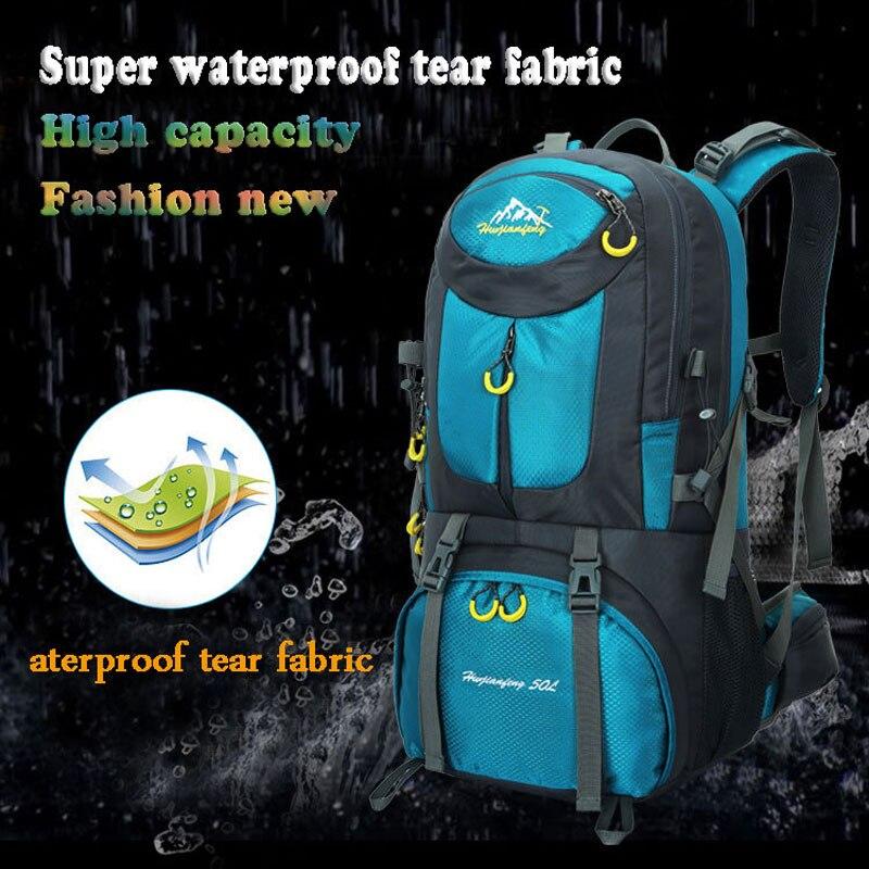 9789695f01bd Купить Новый высокого профессионального потенциала рюкзаки Альпинизм сумки  походы рюкзак Открытый Спортивная сумка рюкзак водонепроницаемый для мужчин  и ...