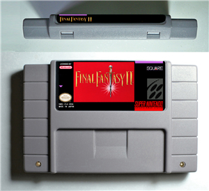 Final Fantasy II 2 - RPG Game Battery Save US Version image