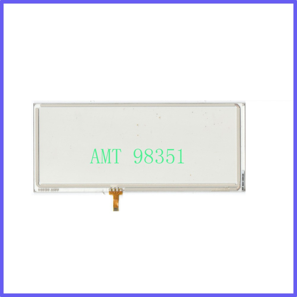 ZhiYuSun POST 8.4 inch 4-wire resistive touch panel AMT 98351 Navigator screen Industrial touch control Commercial use amt 146 115 4 wire resistive touch screen ito 6 4 touch 4 line board touch glass amt9525 wide temperature touch screen