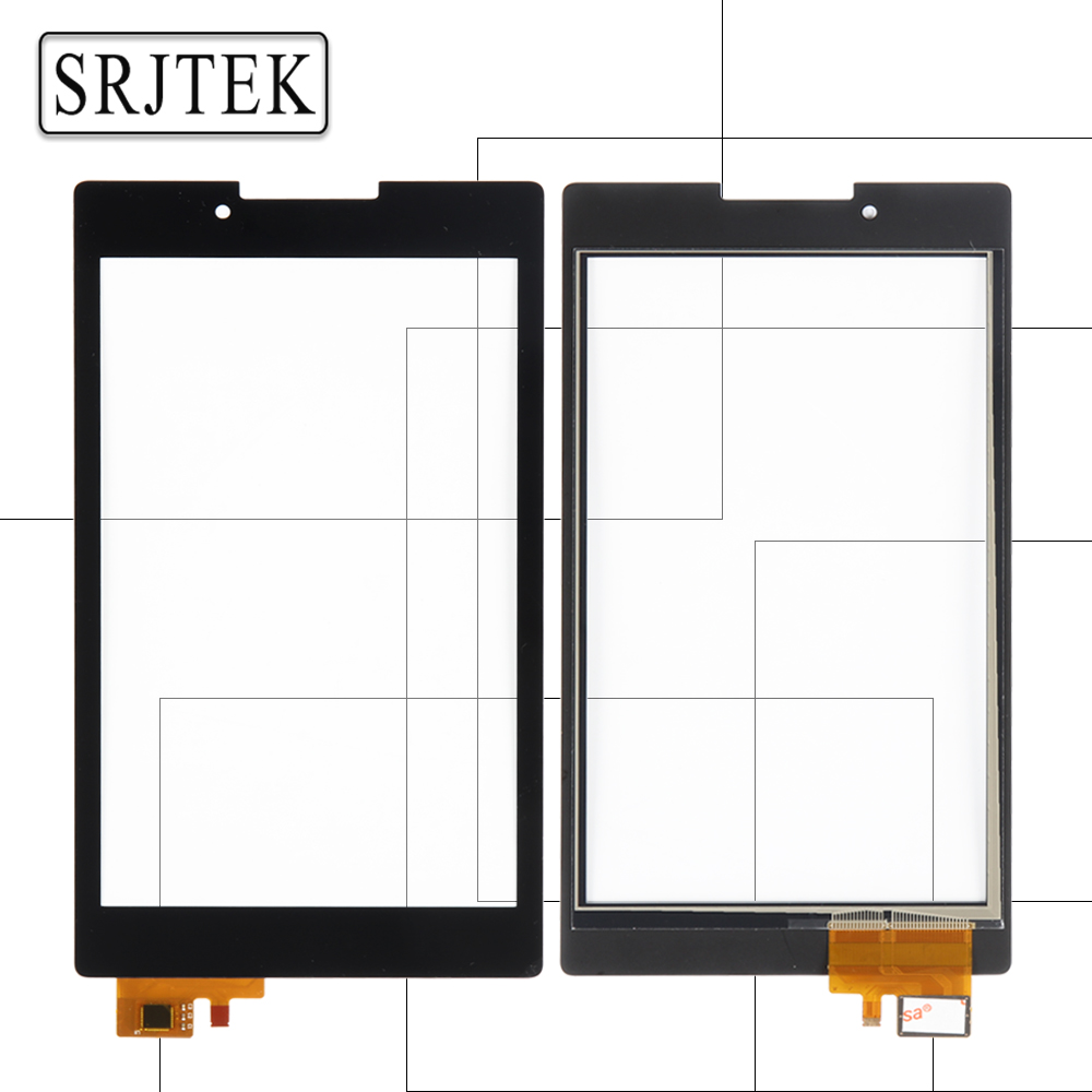 Srjtek For For Lenovo Tab 2 A7-30 A7-30DC A7-30HC A7-30TC Touch Screen Digitizer Sensors Glass Panel Tablet PC Replacement Parts srjtek for lenovo tab2 tab 2 a8 50f a8 50lc touch screen panel digitizer sensor glass black and white 8 inch replacement parts