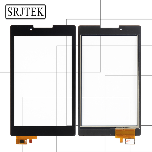 Srjtek For For Lenovo Tab 2 A7-30 A7-30DC A7-30HC A7-30TC Touch Screen Digitizer Sensors Glass Panel Tablet PC Replacement Parts