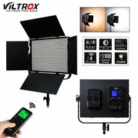 VILTROX VL D85T Professional slim Metal Bi color LED photography light & Wireless remote for Camera Photo Studio Video light