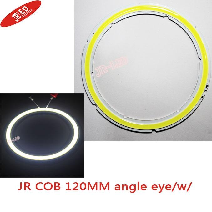 2db 100% -os vízálló COB szögszem 120MM Led 25W-os fénygyűrűk - LED Világítás - Fénykép 1