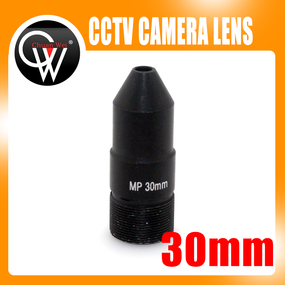 High Quality 30mm HD lens Board lens mount M12 interface F1 6 for CCTV CCD IP
