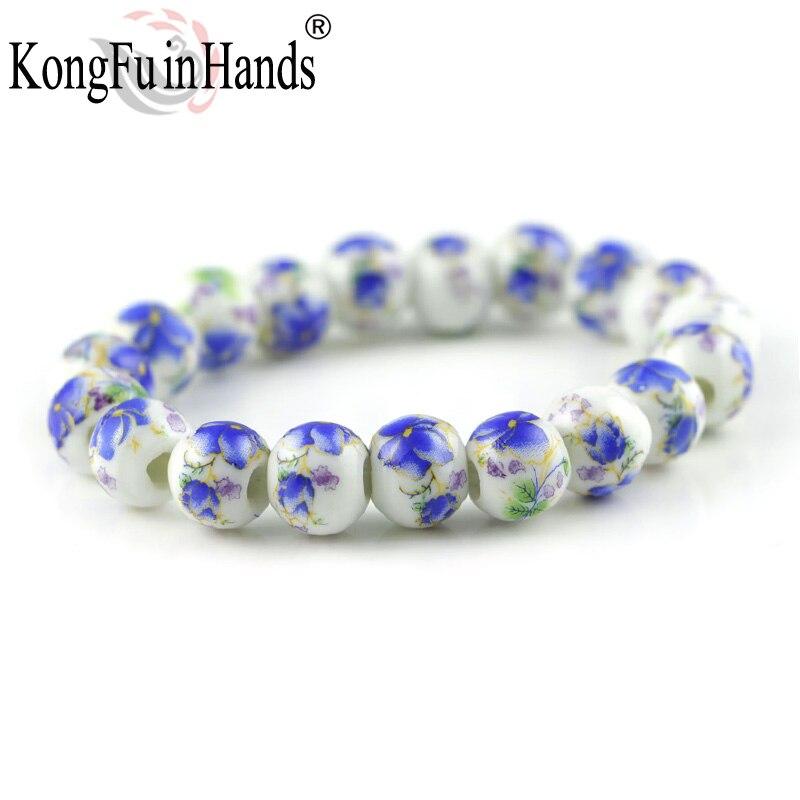 Chinese Fashion Classic rose sun flower vintage handmake trendy round strand bracelets bead bracelet accessories souvenir gift