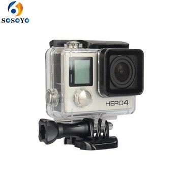 VOOR Go Pro Waterdichte Behuizing Case Onderwater Beschermende Voor Gopro Hero 3 + plus/voor Gopro Hero 4 Camera