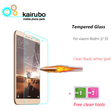 3 pieces Xiaomi Redmi 3S 3 S Pro Tempered Glass Screen Protector film for Redmi 3 S mobile Phone Tempered Glass защитный экран xiaomi redmi 3 3s 3 pro 5 tempered glass