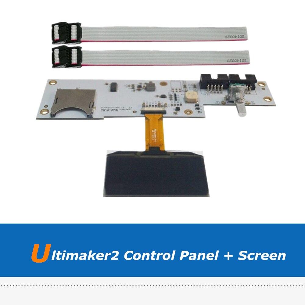 1pc 3D Printer Board Parts Ultimaker 2 3D Printer OLED Screen UM2 LCD Control Panel Board