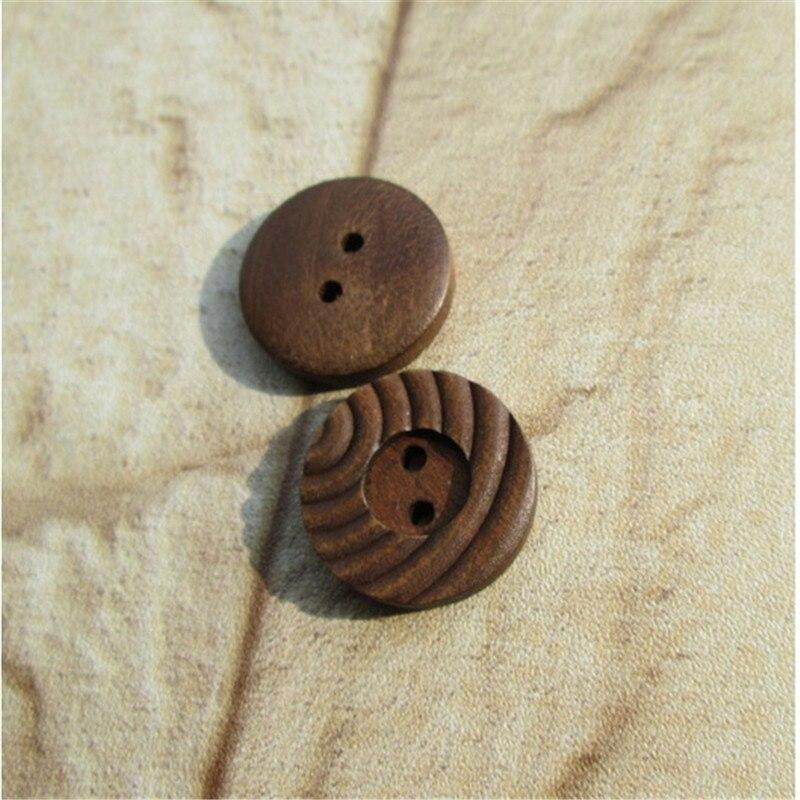 ₩DIY accesorios hechos a mano lana ecológica Botón de coco niño ...
