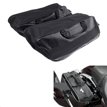 Motorcycle Hard Saddlebag Liners Luggage Travel Paks For Harley Touring FLHR FLHT 1997-13