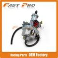 KEIHIN Cable Choke PZ27 27mm Carb Carburetor For 140cc 160cc 200cc Motorcycle Pit Dirt Bike ATV Quad Motocross Free Shipping