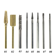 1pc Tungsten Carbide Nail Drill Bit 3/32″ Rotary Milling Cutter Bits For Manicure Drill Accessories Nail Art Tools LAND112