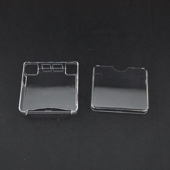 YGCDO 50 Sets For Nintendo GBA SP Plastic Clear Protective Cases Clear Color