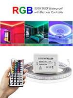 Светодиодные ленты светильник 220 v с 44-клавишный пульт дистанционного управления гибкая светодиодная лента светодиодный Водонепроницаемый...