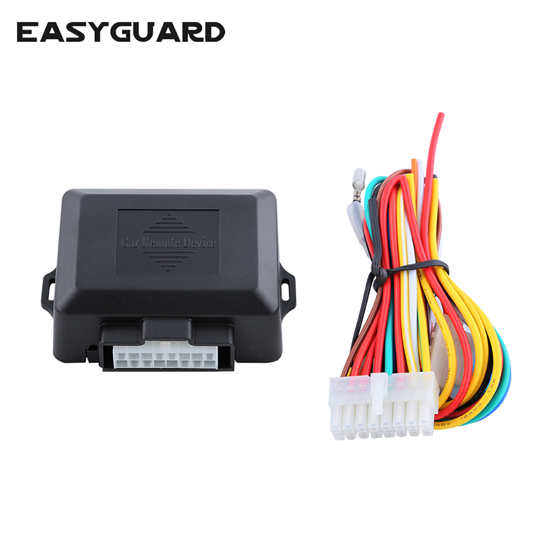 EASYGUARD Quality Universal 4 door power window closer module automatic rolling up windows compatible car alarm system