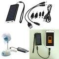1350 mAH Solar Portátil Cargador de Batería del Banco de Alimentación de CA del USB para el Teléfono Celular caliente de La Promoción nueva