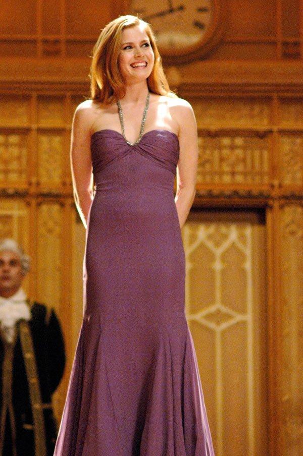 enchanted so close Amy Adams (Giselle) purple color ball dancing ...