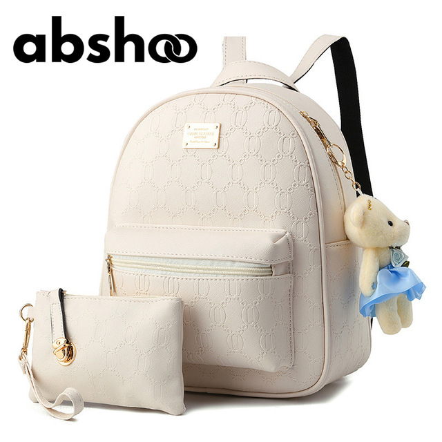 Fashion Style S Cute Backpack School Bags For Ager 2 Pcs Clutch Purse Small