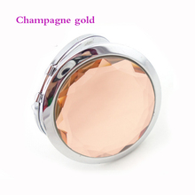 Great quality Folding Portable mirror 1PC personalized free with Any name text and design best gift for birthday party +gift box