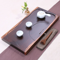 Factory Wholesale 50*25*5cm Ebony Tea Tray Chinese Kung Fu Tea Table Chapan Household Tea Board,Chahai Tea Set Gift