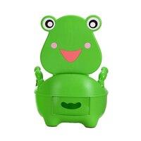 Portable Cartoon Baby Toilet Girls Boy Potty Seat Folding Chair Cute Frog Drawer Training Toilet FJ88
