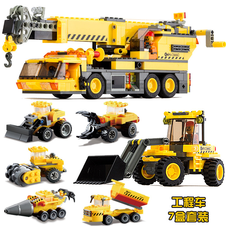 KAZI Kids Toys car Building blocks sets Car toys Birthday gifts  truck Christmas Children toys Educational Engineering Seriess 110v 220v electric belgian liege waffle baker maker machine iron page 2
