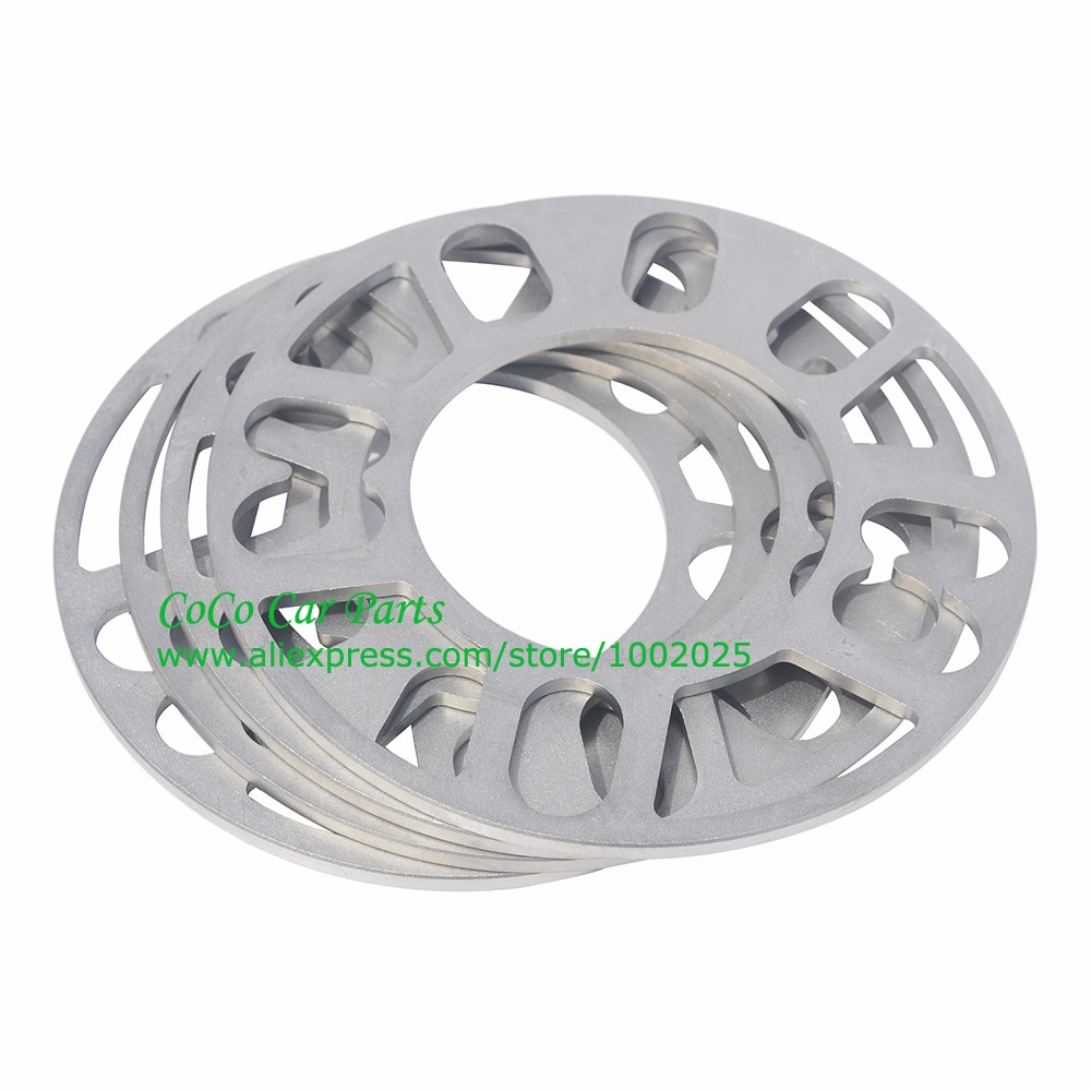 Image 4 - 2PCS Universal Alloy Aluminum Wheel Spacer Shims Plate 4 5 STUD 3mm 5mm 8mm 10mm FIT 4x100 4x114.3 5x100 5x108 5x114.3 5x120-in Tire Accessories from Automobiles & Motorcycles