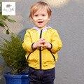 DB3411 dave bella primavera outono novo bebê meninos casaco bonito roupas infantis toddle meninos casaco crianças jaqueta crianças