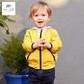 DB3411 dave bella spring autumn new baby boys handsome coat infant clothes toddle coat boys  kids jacket children