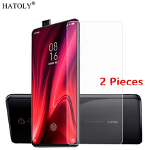 2PCS For Xiaomi Mi 9t Pro Glass Tempered Thin Film Phone Screen Protector for