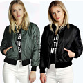 Европа 2016 новых осенью зимней моды сплошной цвет молнию куртки мода женщин пиджаки женский Длинным Рукавом Женщины Пальто Краткости Z2340