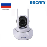 ESCAM G02 Dual Antenna 720P Pan Tilt WiFi IP IR Camera Support Two Way Audio ONVIF