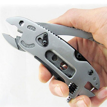 New Outdoor Multitool Pliers Pocket Knife Screwdriver Set Kit Adjustable Wrench Jaw Spanner Repair Survival Hand Multi Tool