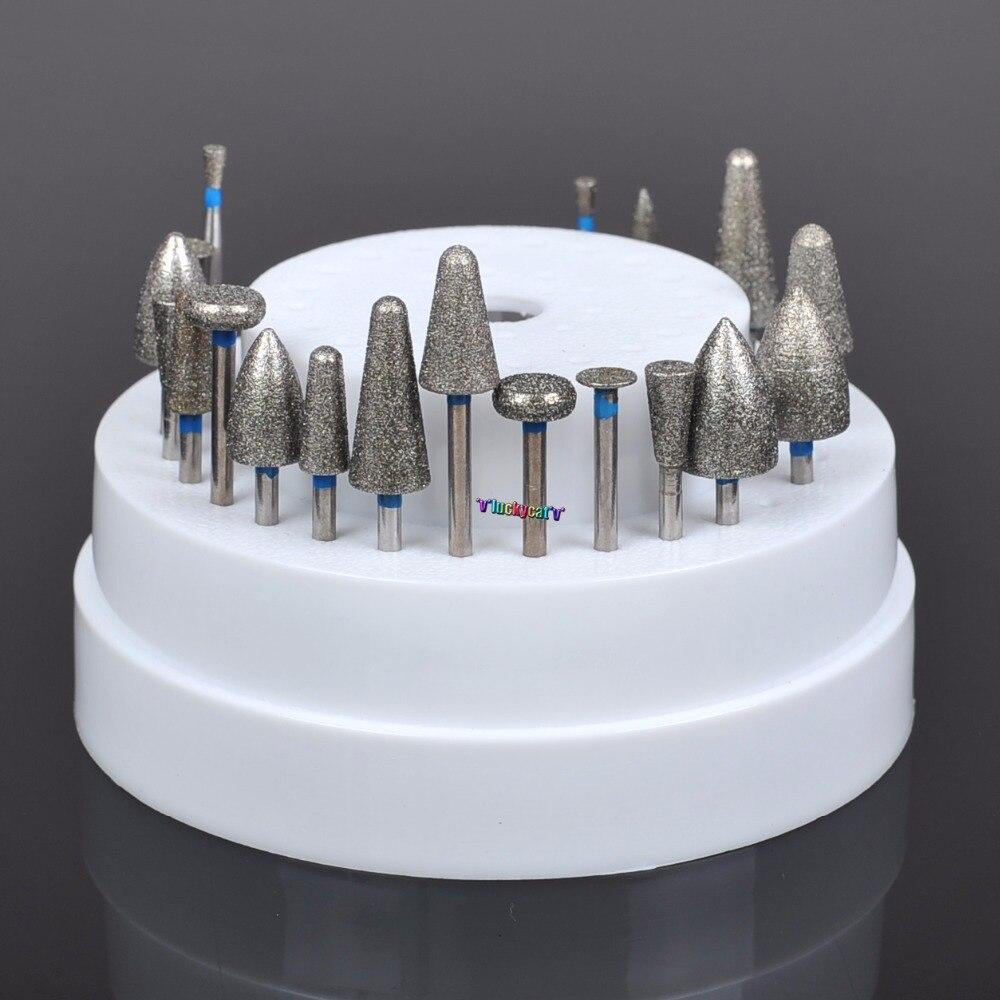 Dental Diamond: Dental Lab Assorted Diamond Burs Millers Tooth Drill