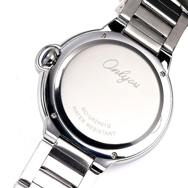 Wrist Watch For Men Japan Roman Numerals Quartz Analog Movement Stainless Steel Watchband Relogio Masculino 82001