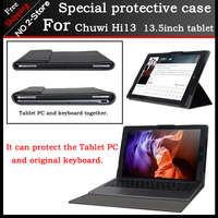 Original Business Stand Pu Leather Case For Chuwi Hi13 13 5 Inch Tablet PC Fashion Keyboard