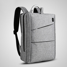 Cai Brand Men Women Casual Business Bags Backpack 15 Inch Laptop Travel Backpacks Unisex School Bag Waterproof Mochila