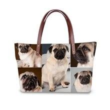 Handbag for Women 2019 Bags Shoulder Bag Beach Bag 3D Pet Puppy og Print Pattern Design Tote Bolso sweet lemon print and cloth design tote bag for women