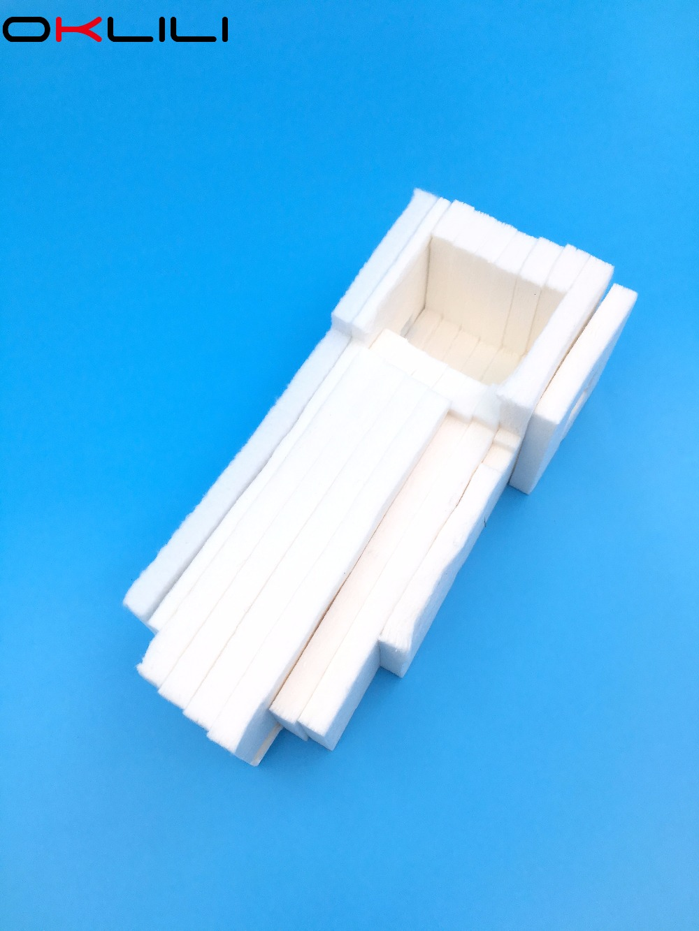 1PC Tray Porous Pad Waste Ink Tank Sponge for Epson ET-4500 L550 L551 L555 L558 L565 L575 L566 M200 M100 M105 M205 WF2010 WF2510 new and original for epson pro 4880 4880c 4400 4450 7600 9600 7400 4880 porous pad assy ink tray porous pad ink