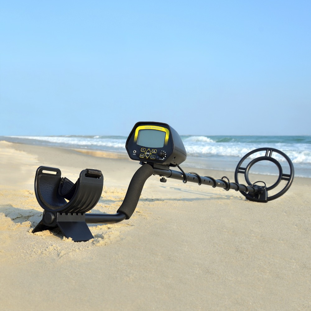 Underground Metal Detector MD3030 Treasure Hunter LCD Display Adjustable Gold Finder Digger Under Shallow Water High Sensitivity