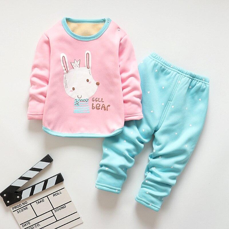 BibiCola autumn boys   pajamas     sets   cotton long sleeve clothing children boys cartoon fleece sleepwear fashion homewear outfits