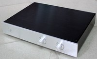 WA12 aluminum chassis pre-amplifier chassis\/Enclosure\/box 425*313*70mm
