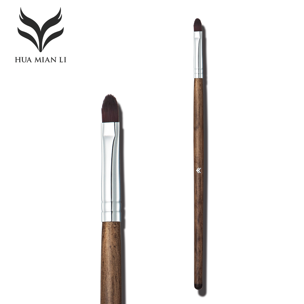 HUAMIANLI Makeuo Brushes Concealer Beauty Make Up High Quality Goat Hair Pen Wood Handle With Box Gift Femme Brand make up forever lift concealer