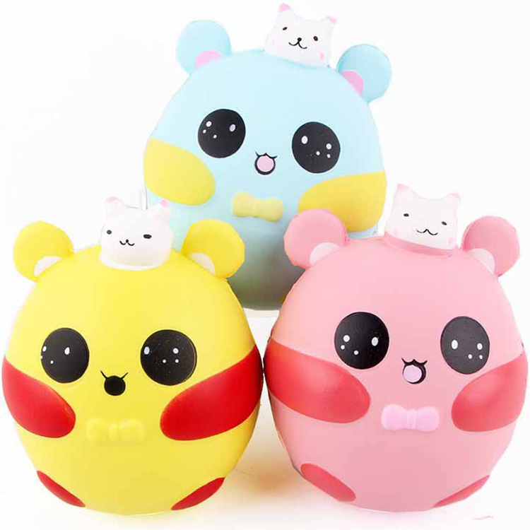 New anti stress 12cm jumbo squish rabbit Scented Squishy Slow Rising Squeeze kids antistress Toy Gift adult anti-stress toys ZJD pa93 pu foam shrimp model squishy relieve stress toy