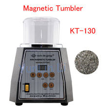 Magnetic Tumbler 130mm  Jewelry Polisher Metals Polisher & Finisher Super Finishing Polishing machine KT-130
