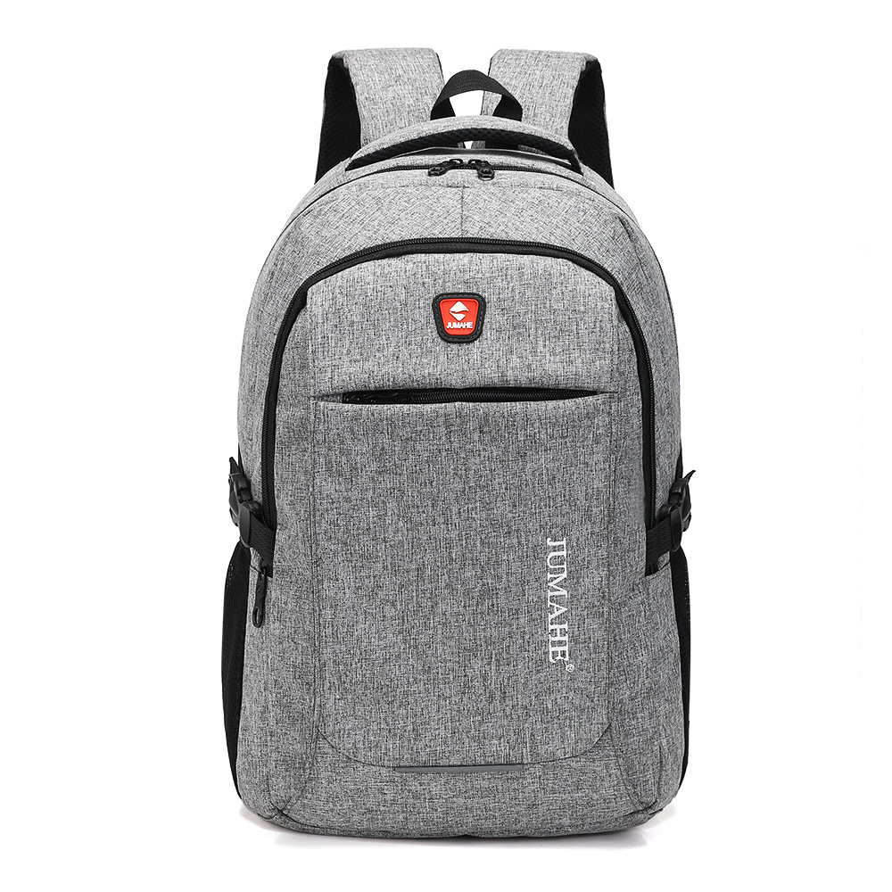 Hot High Quality Oxford Cloth School Student Men's Bag Solid Color Business Travel Portable Large Capacity Backpack Exquisite
