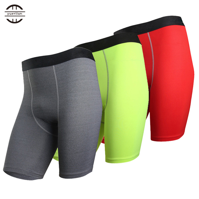 New Base layer Compression Shorts Men football Basketball Shorts Inner wear  Summer Athletic Gym Fitness Sports Red Running short b8561a1626b2